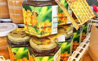 (H)eerlijke honing van Axel Falkeisen te koop bij Hel's Kitchen!