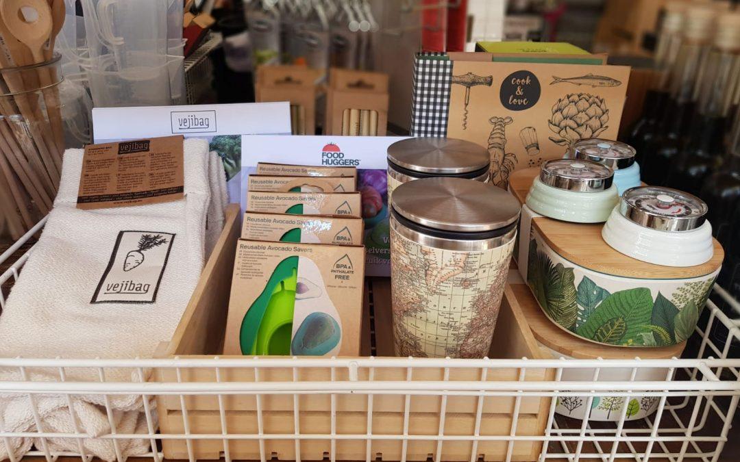 Nieuw: Foodhuggers & Vejibag. Gebruik minder plastic en voorkom voedselverspilling!
